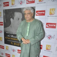 Javed Akhtar at Musical Evening Dedicated to Music Director N. Dutta