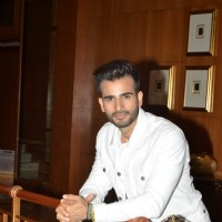 Karan Tacker poses for the media at Malaysia