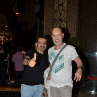 Ehsaan Noorani and Loy Mendosa pose for the media at Malaysia