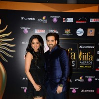 Luv Sinha With His Wife at IIFA Awards