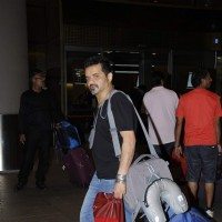 Ehsaan Noorani Snapped at Airport