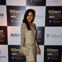 Teejay Sidhu poses for the media at GQ India Best-Dressed Men in India 2015