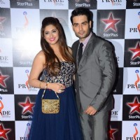 Vivian Dsena and Vahbbiz Dorabjee at Pride Awards
