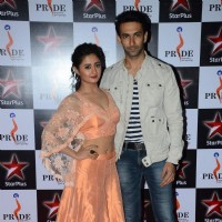 Nandish Sandhu and Rashmi Desai at Pride Awards