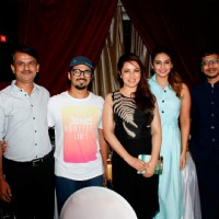 Tisca Chopra and Huma Qureshi at Music Launch of Marathi Movie 'Highway'