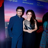 Director Umesh Kulkarni and Tisca Chopra at Music Launch of Marathi Movie 'Highway'