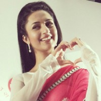 Divyanka Tripathi in Star lus Valentine's Day Promotion