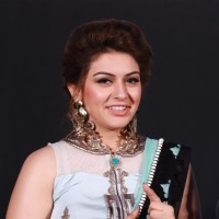 Hansika Motwani at Trailer and Audio Launch of Uyire Uyire!