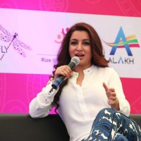 Tisca Chopra at Press Meet of Career Connect