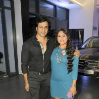 Rajiv Paul and Sai Deodhar at  Launch of Sai and Shakti Anand's Entertainment Company