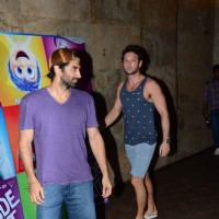 Aditya Roy Kapur and Homi Adajania at Screening of Inside Out