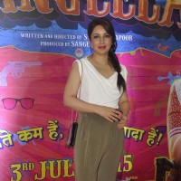 Tisca Chopra at Premiere of Guddu Rangeela