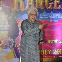 Javed Akhtar at Premiere of Guddu Rangeela