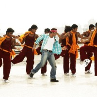 Salman Khan dancing in a song