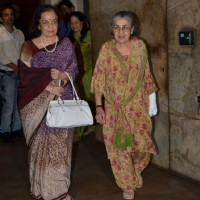 Asha Parekh at the Special Screening of Bajrangi Bhaijaan