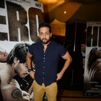 Salil Acharya poses for the media at the Trailer Launch of Hero