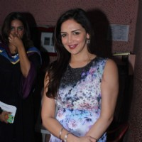 Esha Deol at Whistling Woods Convocation
