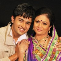 Hari with his mom