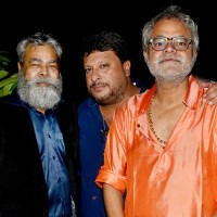 Anupam Shyam, Tigmanshu Dhulia and Sanjay Mishra at Ravi Kissen's Birthday Bash