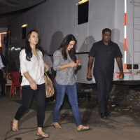 Preity Zinta Snapped at Film City