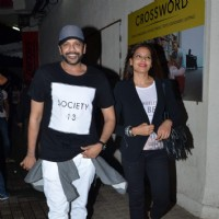 Rocky S and Bipasha Snapped in the City