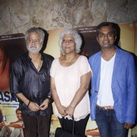 Sanjay Mishra and Neeraj Ghaywan at Special Screening of Masaan