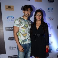 Gurmeet Choudhary and Debina Bonerjee at Mr. India Party