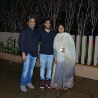 Vishal Bharadwaj and Rekha Bharadwaj at Shahid Kapoor's Bash