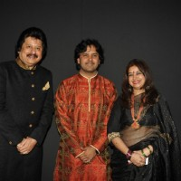 Pankaj Udhas, Javed Ali and Rekha Bhardwaj at Khazana Gazal Festival - Day 2