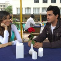 A still image of Varun and Avantika
