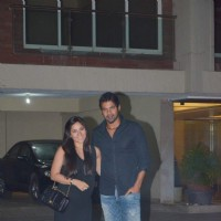 Shabbir Ahluwalia and Kanchi Kaul at Arpita Khan's Birthday Bash