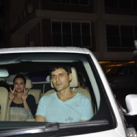 Sonakshi Sinha and Niketan Mahdok at Arpita Khan's Birthday Bash