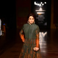 Tisca Chopra Walks at India Couture Week - Day 3 & 4