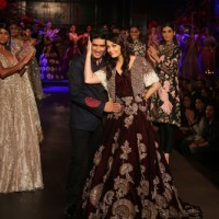 Aishwarya Rai Bachchan with Manish Malhotra at India Couture Week - Day 3 & 4