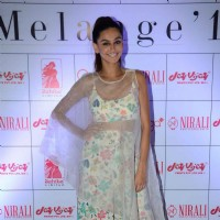 Shibani Dandekar at Melange Fashion Show