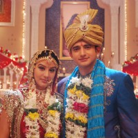Romit Raj and Shilpa a newly wedded couple