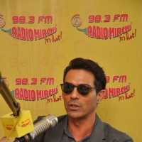 Arjun Rampal at Radio Mirchi