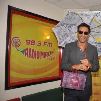 Hot and Handsome Arjun Rampal Visted Radio Mirchi