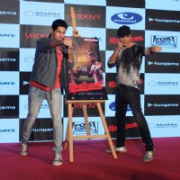 Akshay Kumar and Sidharth Malhotra pose for the media at the Launch of Brothers Mobile Game
