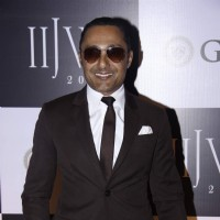 Rahul Bose poses for the media at IIJW Day 3