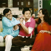 Radhika and Rajdeep teasing Kapil