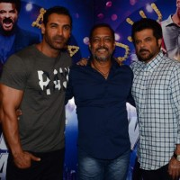 Anil Kapoor, Nana Patekar and John Abraham at Promotions of Welcome Back