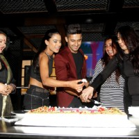 Apara Mehta, Nia Sharma and Ravi Dubey at Jamai Raja's Celebration