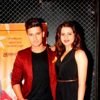 Ravi Dubey and Sargun Mehta at Jamai Raja Celebration Party