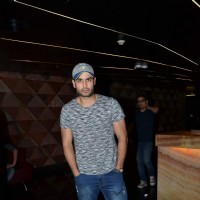 Vivian Dsena poses for the media at the Special Screening of Angrej
