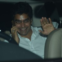 Ashutosh Rana was snapped at the Special Screening of Brothers