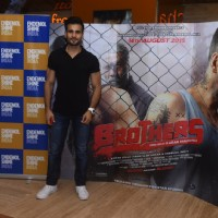 Karan Tacker at Special Screening of Brothers