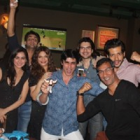 Gautam Rode's Friends at His Birthday Bash