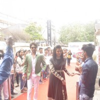 Aishwarya Rai Bachchan and Irrfan Khan Snapped on Sets of DID