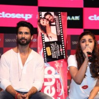 Alia Bhatt interacts with the audience at Close Up First Move Party